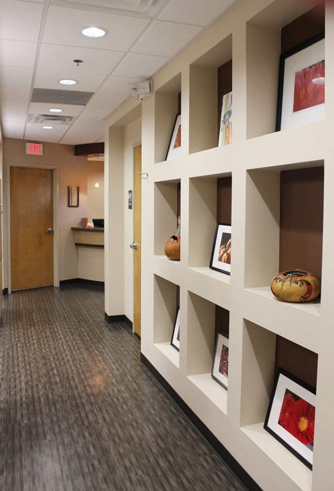 Judy Huey DDS, PC Office hallway