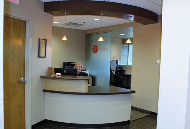 Judy Huey DDS, PC Office lobby